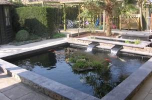 Home kunststofvijver - Bassin tuin ontwerp ...